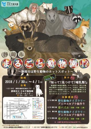 2018.02.18静岡市まるごと動物園!? 体験講座(第1回)